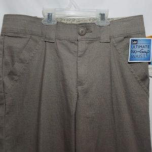 NEW Lee Midrise Stretch Trouser No Gap waist